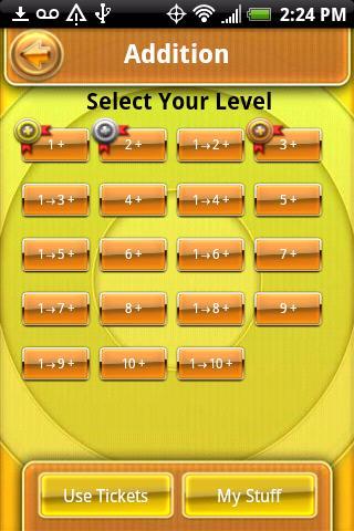 Math Fact Ball- screenshot