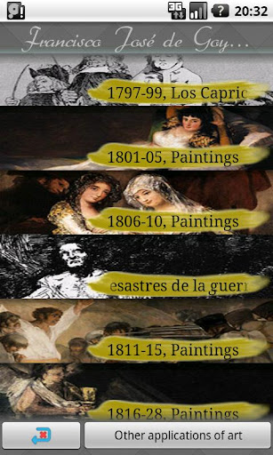 Francisco Goya Art Wallpapers