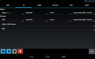 Screenshot of USB Audio Recorder PRO