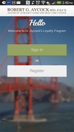 AycockMD Loyalty Card