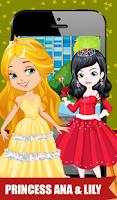 Screenshot of Gorgeous Princess Dressup