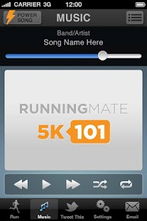 5K101 Running Mate Couch to 5K- screenshot thumbnail