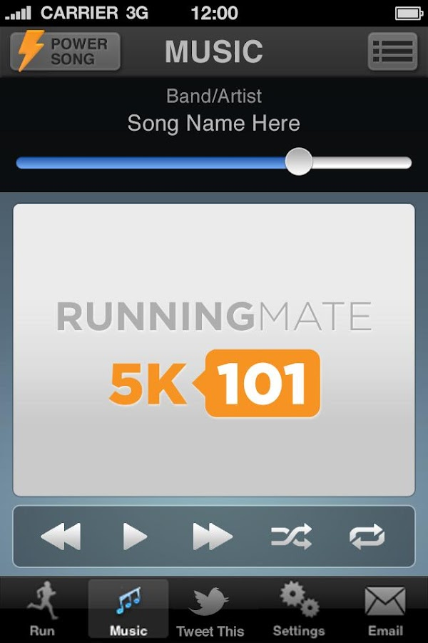 5K101 Running Mate Couch to 5K- screenshot