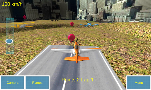 Kids Plane Racers- screenshot thumbnail