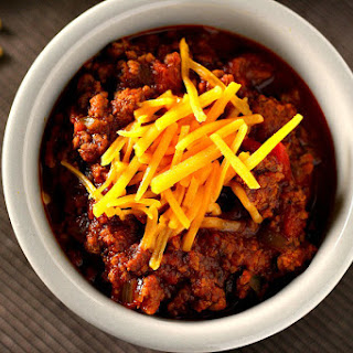 Slow Cooker Hearty No-Bean Chili.