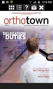 Orthotown Magazine- screenshot thumbnail