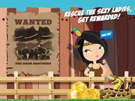 Screenshot of Fun Run Crazy Cowboy Dash Pro