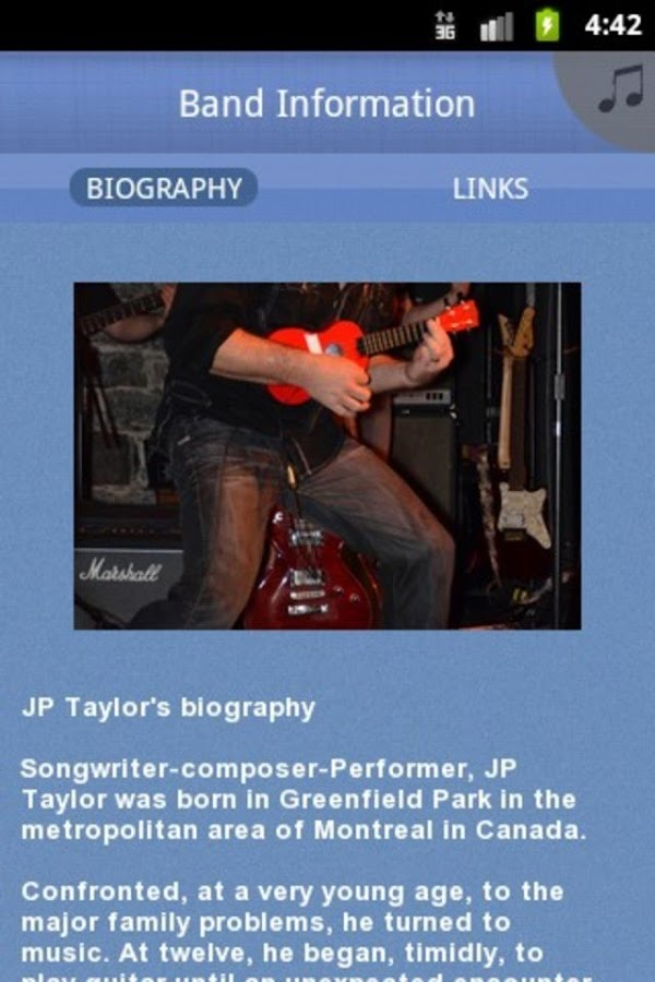 JP Taylor Band - screenshot