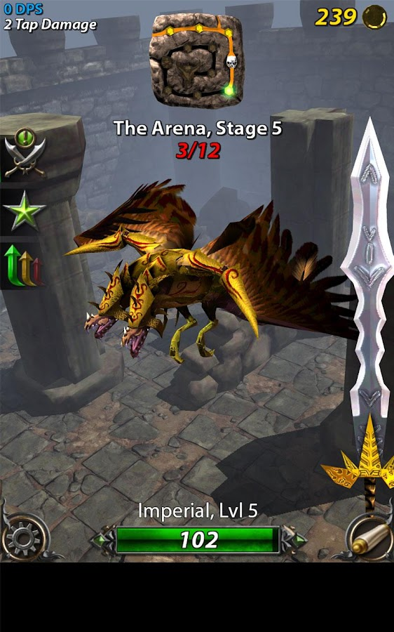Epic Dragon Clicker- screenshot