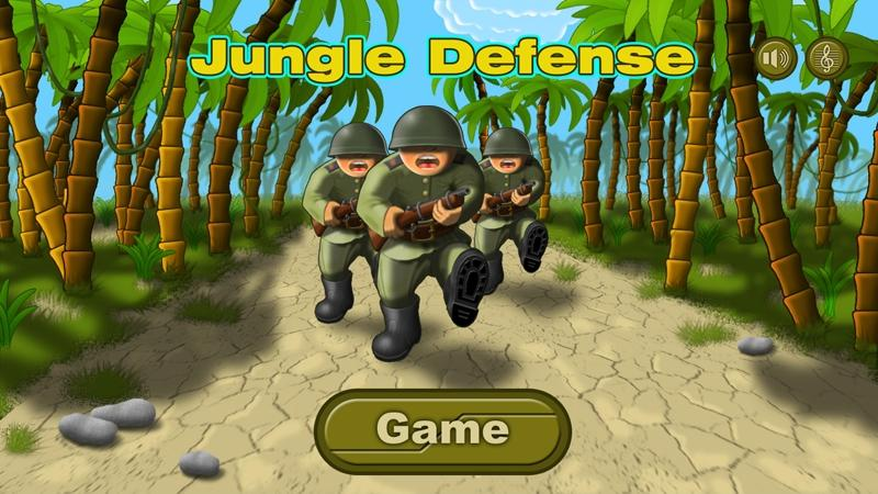 Jungle Defense Demo - screenshot