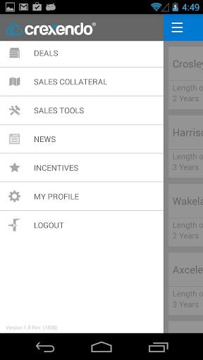 Crexendo Partner App