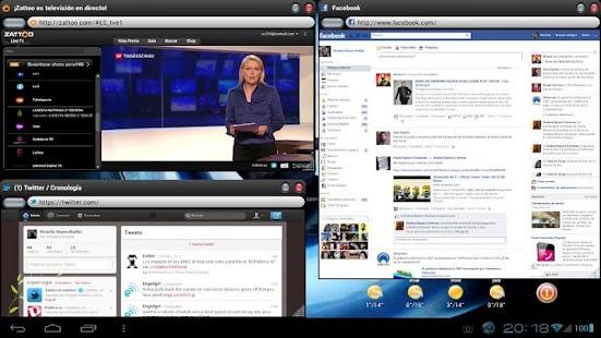 OverSkreen Floating Browser Screenshot