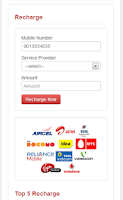 Screenshot of AndyPlay Free Mobile Recharge