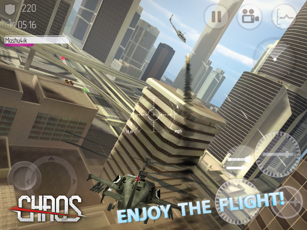 CHAOS Combat Helicopter HD #1- screenshot
