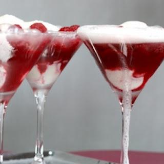 Raspberry-Champagne Fizz.