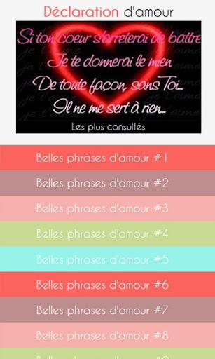 【免費娛樂App】Belles Phrases d Amour-APP點子