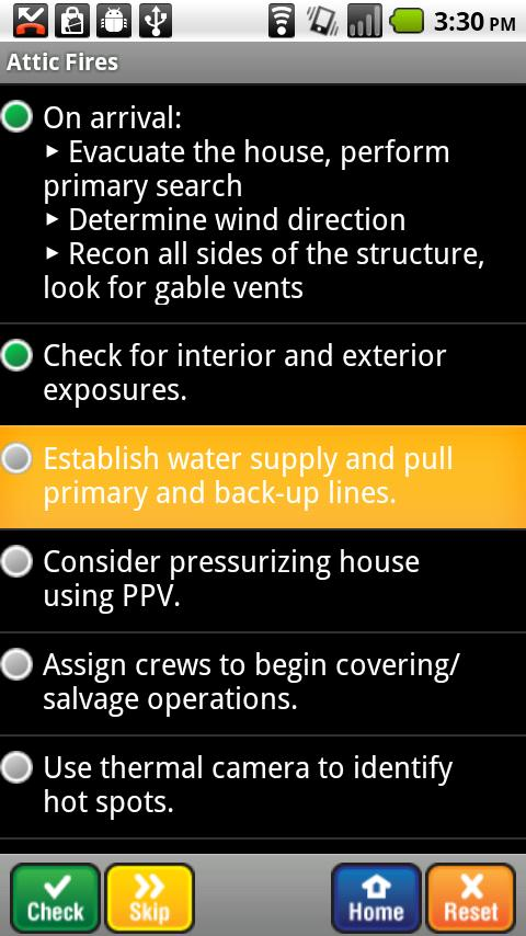 Fire Officer Field Guide SHS- screenshot