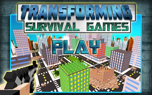 【免費動作App】Transforming Survival Games-APP點子