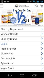 Vitacost - screenshot thumbnail