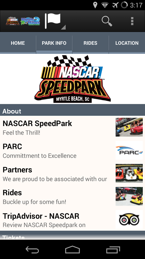 NASCAR SpeedPark Myrtle Beach - screenshot