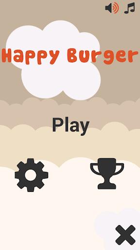 Happy Burger Jumping
