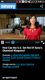 Newsy: Video News - screenshot thumbnail