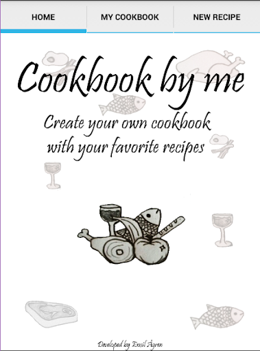 Cookbook by me