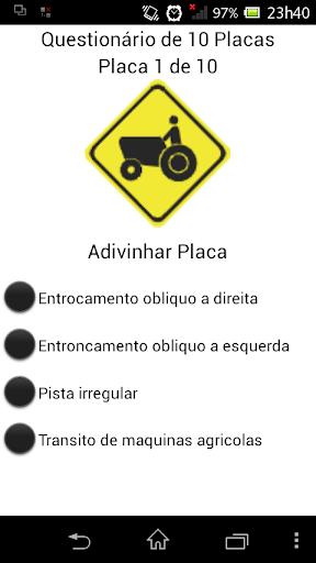 Quiz trânsito
