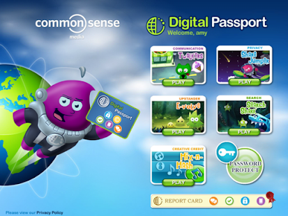 Digital Passport for Kids- screenshot thumbnail