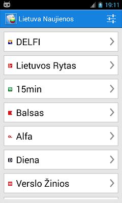 Lietuva Naujienos - screenshot