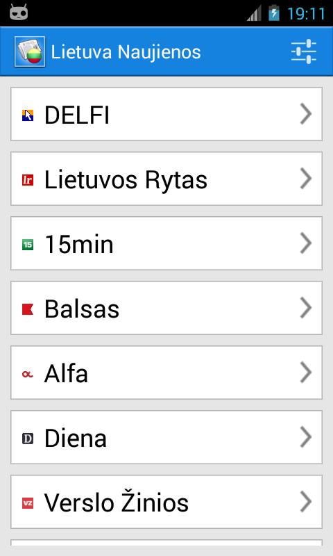 Lietuva Naujienos- screenshot