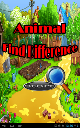 Animal Find Difference