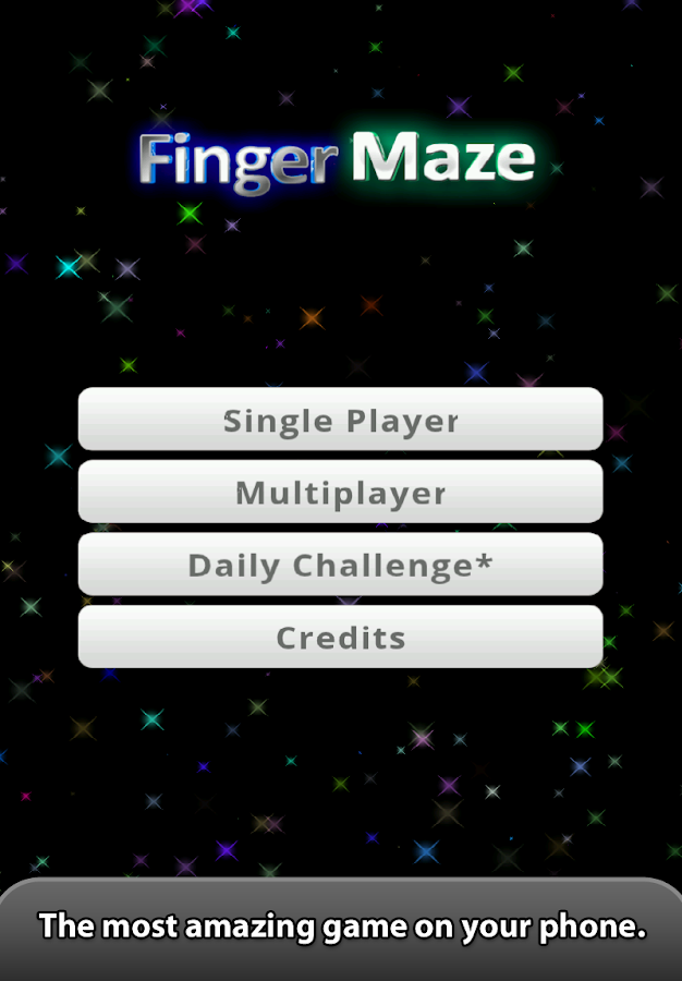 Finger Maze- screenshot