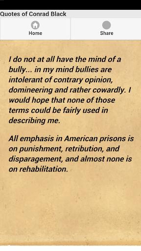 【免費娛樂App】Quotes of Conrad Black-APP點子