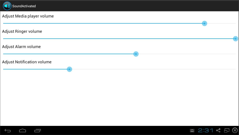 Volume Controller - screenshot