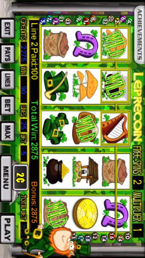 Leprecoin Slot Machine- screenshot
