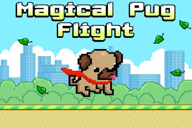 Magical Pug Flight screenshot