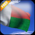 3D Madagascar Flag Live Wallpaper icon