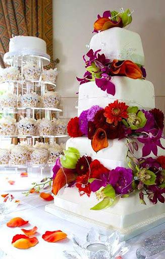 婚礼蛋糕 拼图