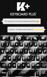 Zebra Keyboard Theme - náhled