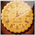 ビスケット・アナログ時計ウィジェット icon
