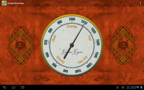 Vintage Barometer (Network) - screenshot thumbnail