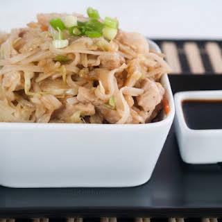 Asian Pork And Noodle Stir-Fry.