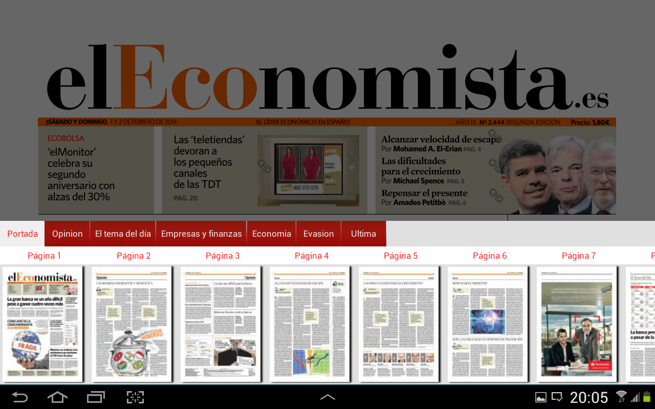 el Economista Kiosco- screenshot
