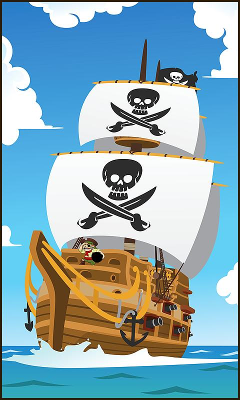 Clumsy Pirates - screenshot