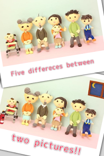 Find Differences - Clay models- screenshot thumbnail
