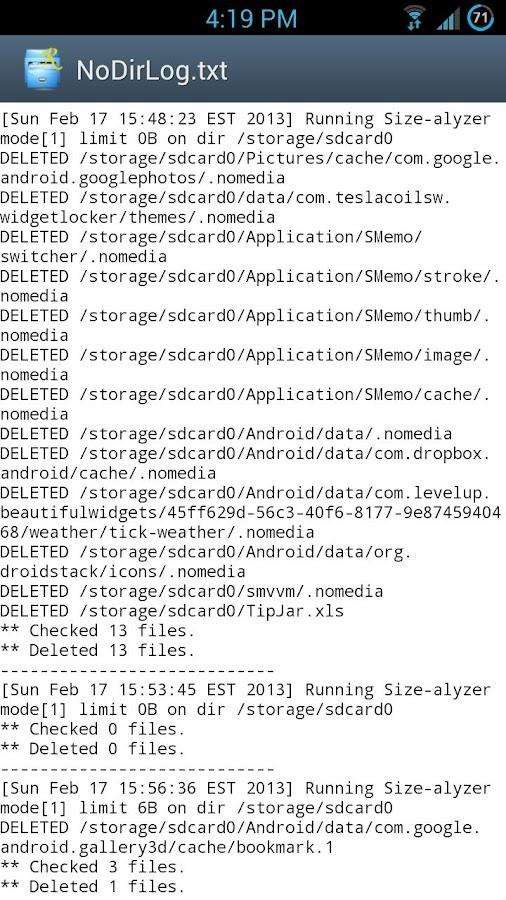 NoDir - screenshot