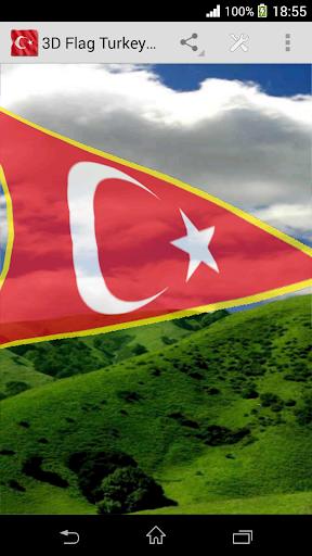 【免費生活App】3D Flag Turkey LWP-APP點子