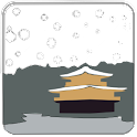 Kyoto Snowfall: Golden Temple logo