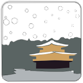 Kyoto Snowfall: Golden Temple